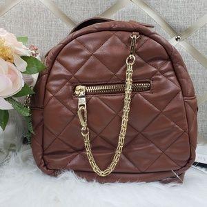 🧡NWT💛Steve Madden Small Cognac Backpack